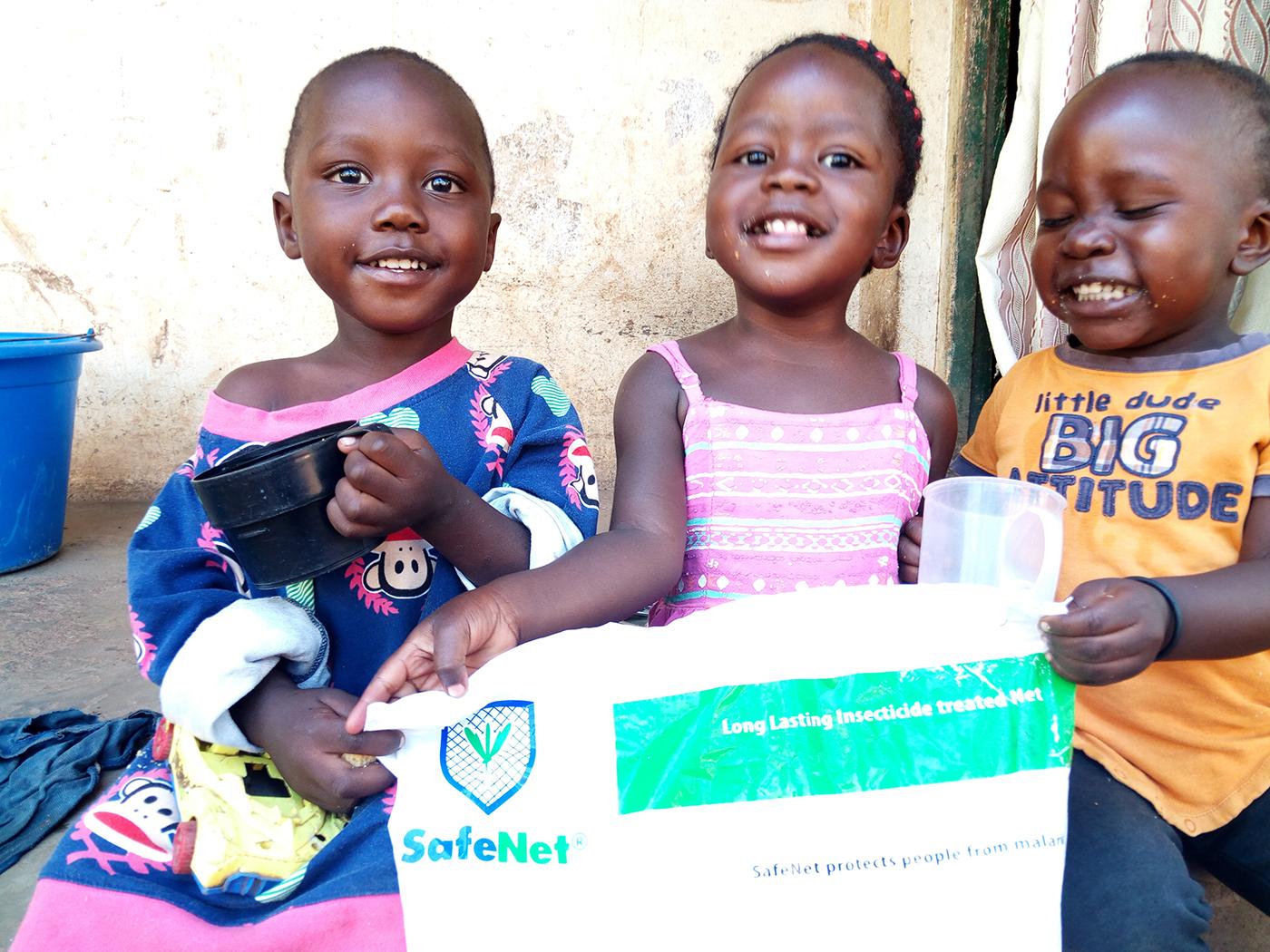 Happy children with SafeNet®️
